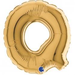 Globo Letra Q 18cm TG Foil