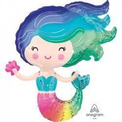 Globo Sirena de foil 76cm