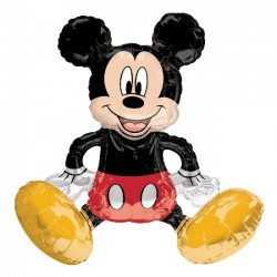 Globo Sitting Mickey Mouse