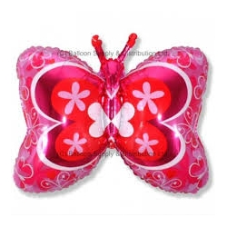Globo Mariposa Foil