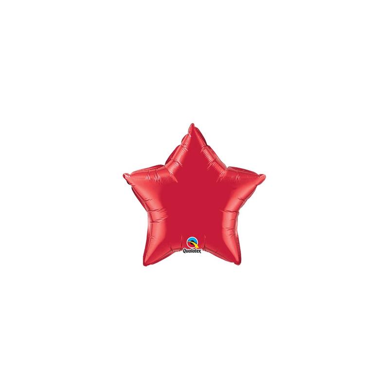 """Globo Estrella de foil 9""""-23cm Qualatex"""