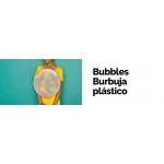 Bubbles Burbuja plástico