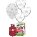 Packs globos para Bodas-bautizos-comuniones