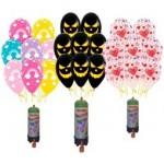 Packs globos  con helio temáticos