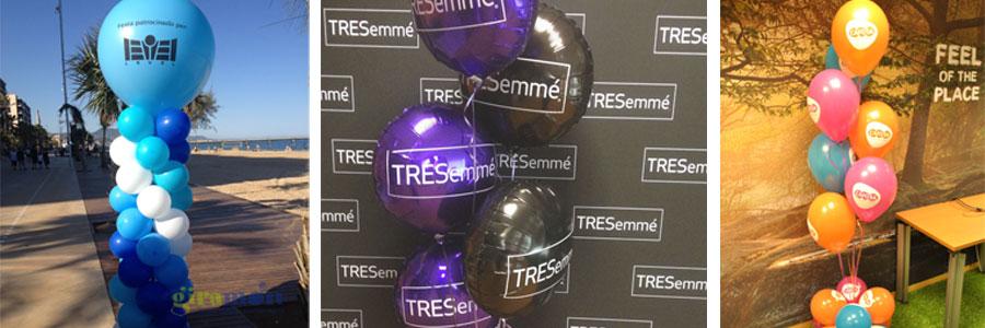 decoraciones marca globo impreso